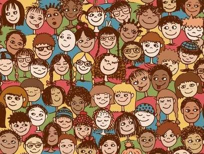 48042628-stock-vector-kids-hand-drawn-seamless-pattern-with-cute-faces-of-children-from-diverse-cultural-ethnic-background