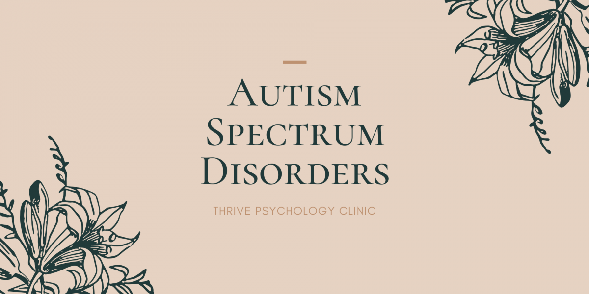 autism spectrum disorders asd singapore