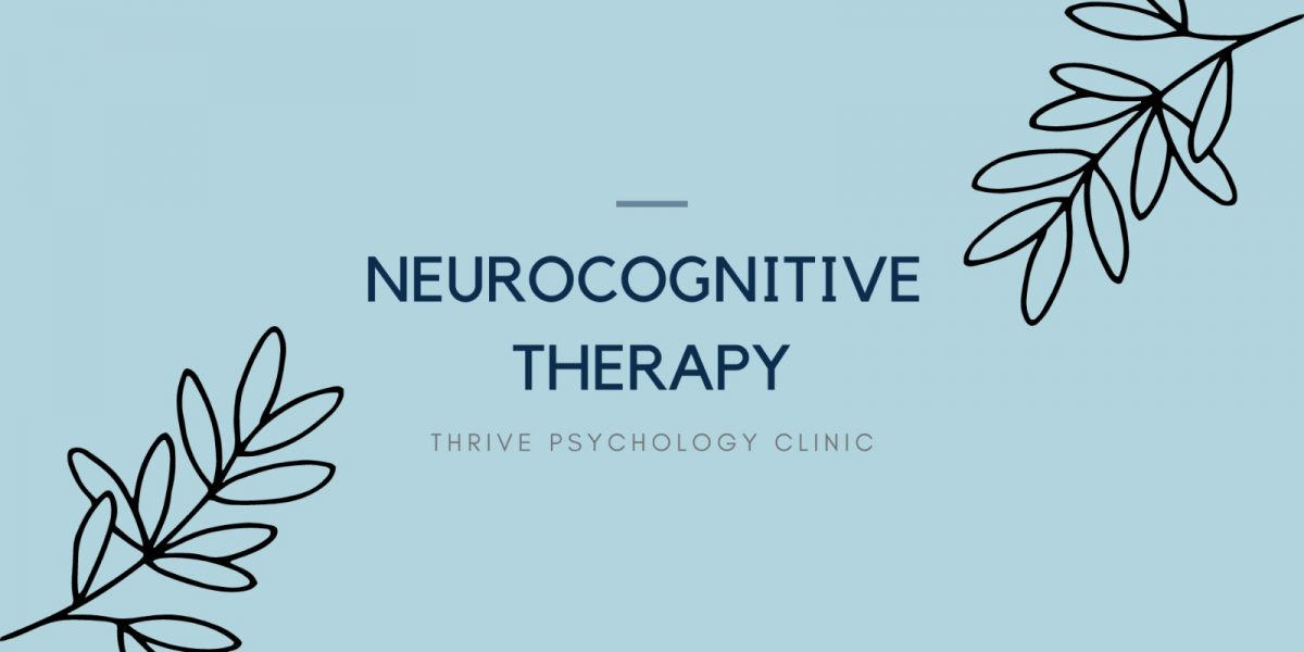 Neurocognitive therapy psychology