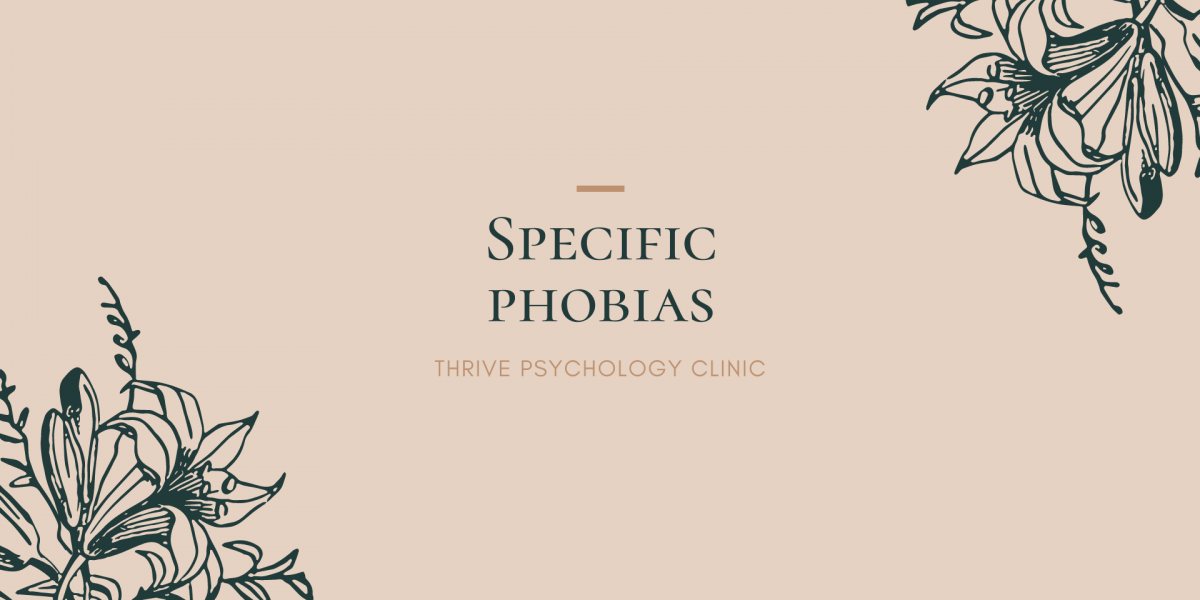 Specific phobias information article psychology