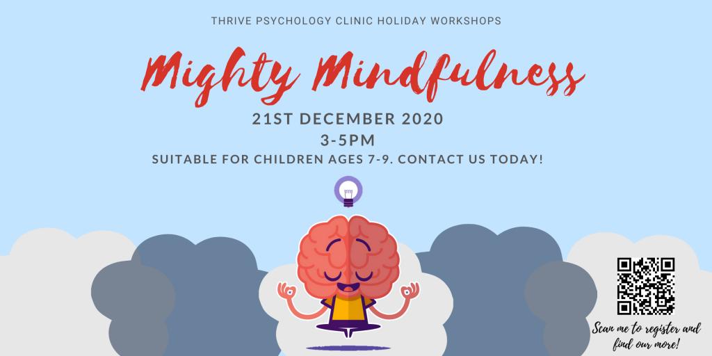 Thrive Psychology December Workshops
